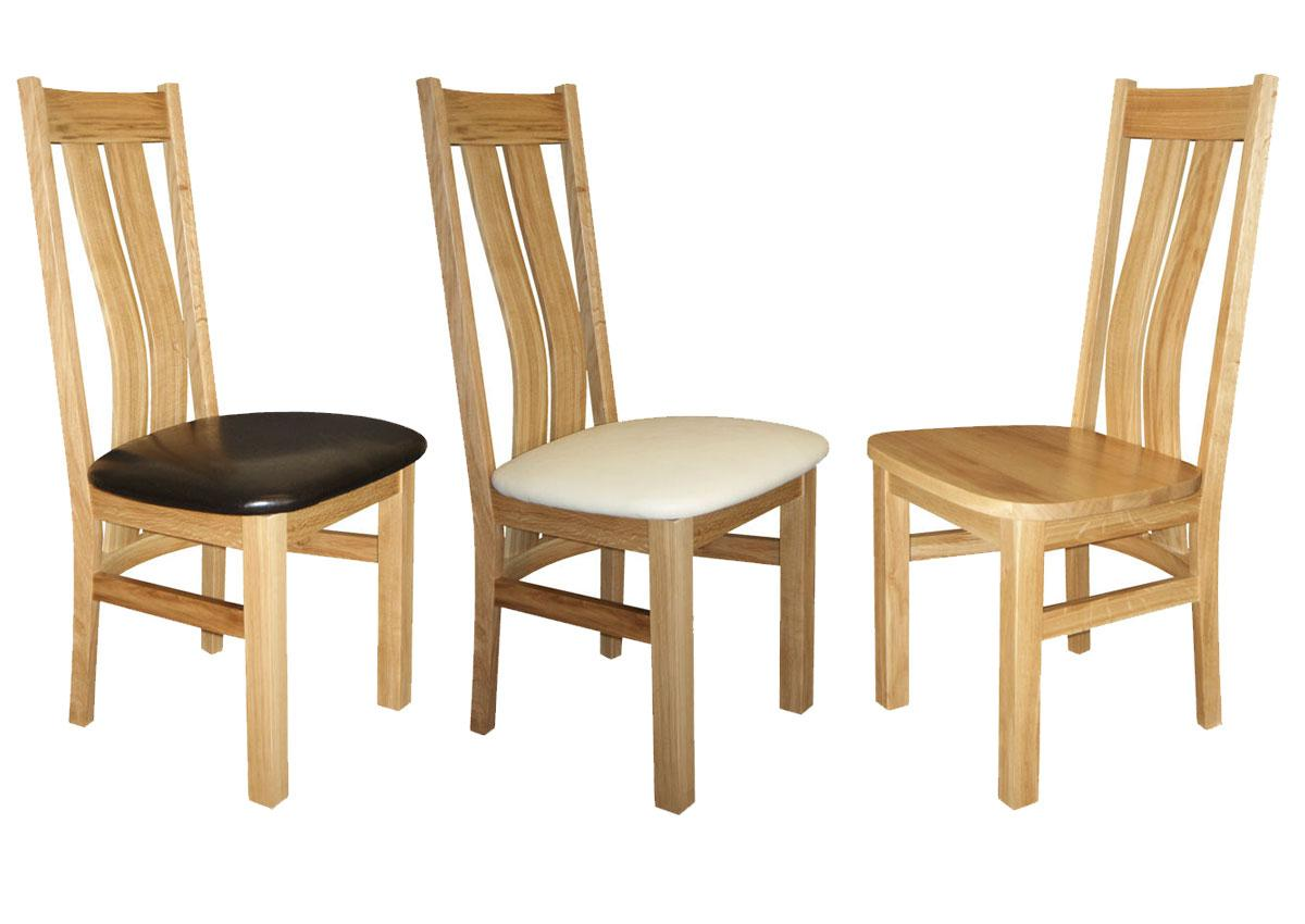 Beech and Oak Chairs