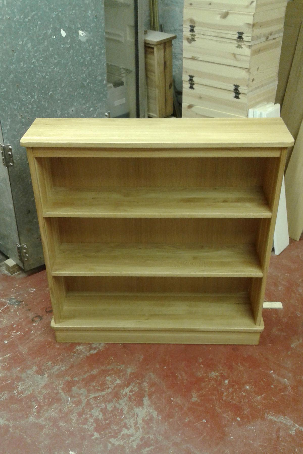 Made to measure Oak Book Case