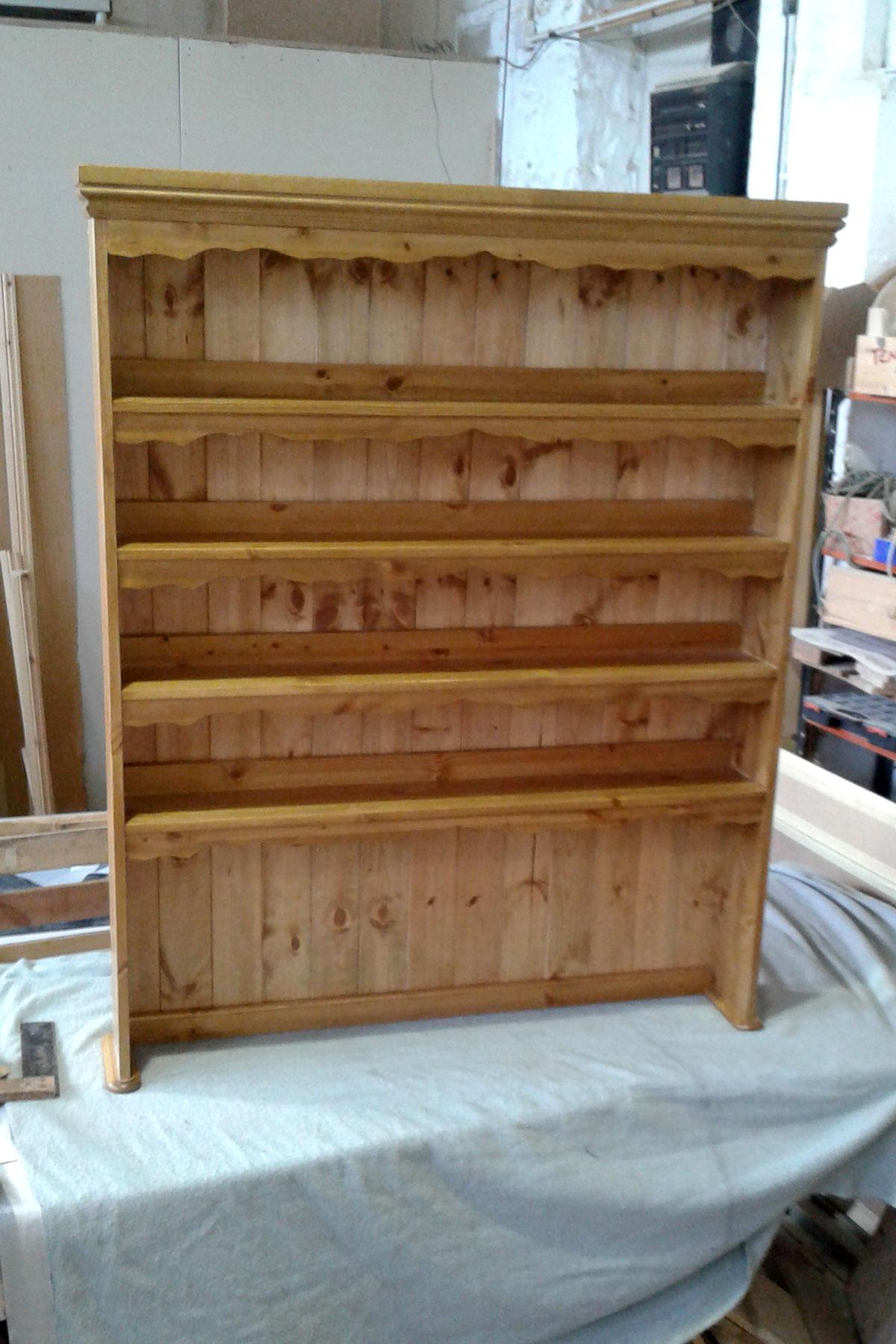Custom Pine Display Cabinet