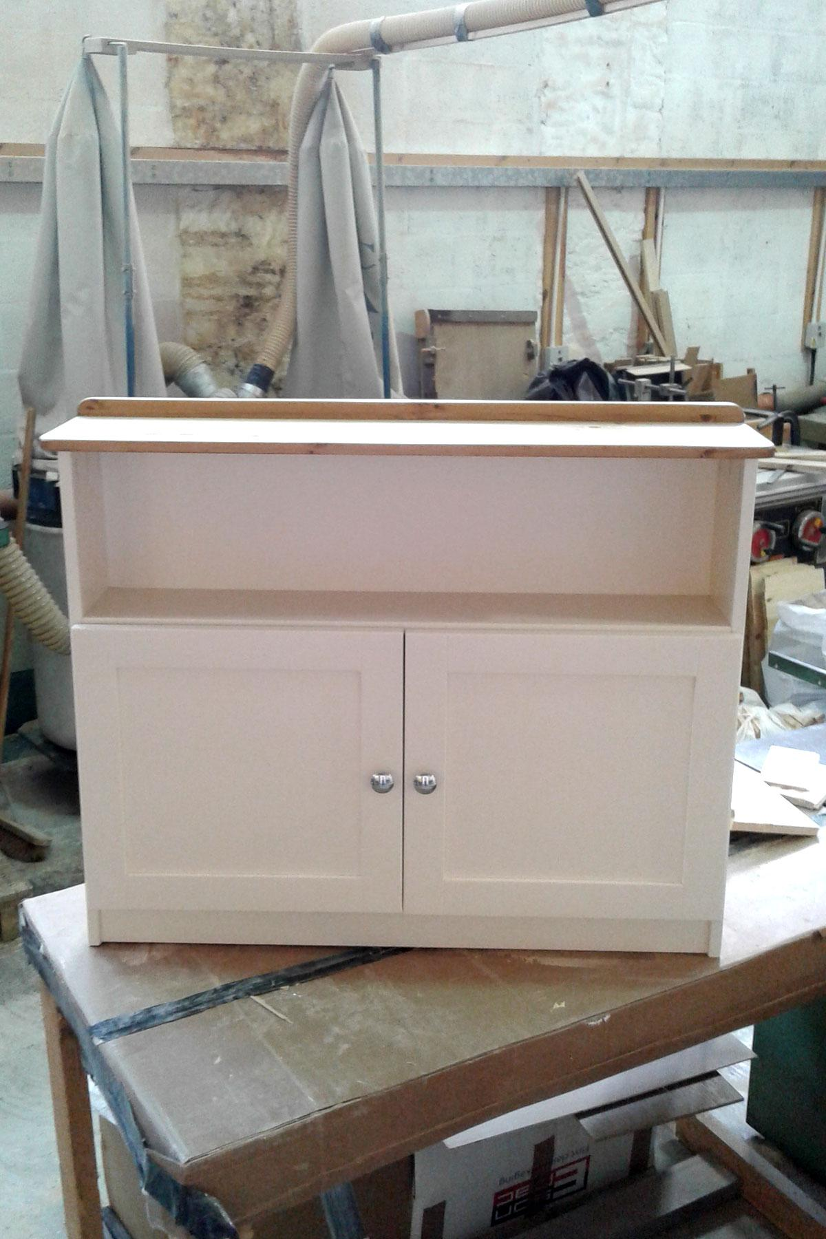 Custom Made, Painted TV Cabinet