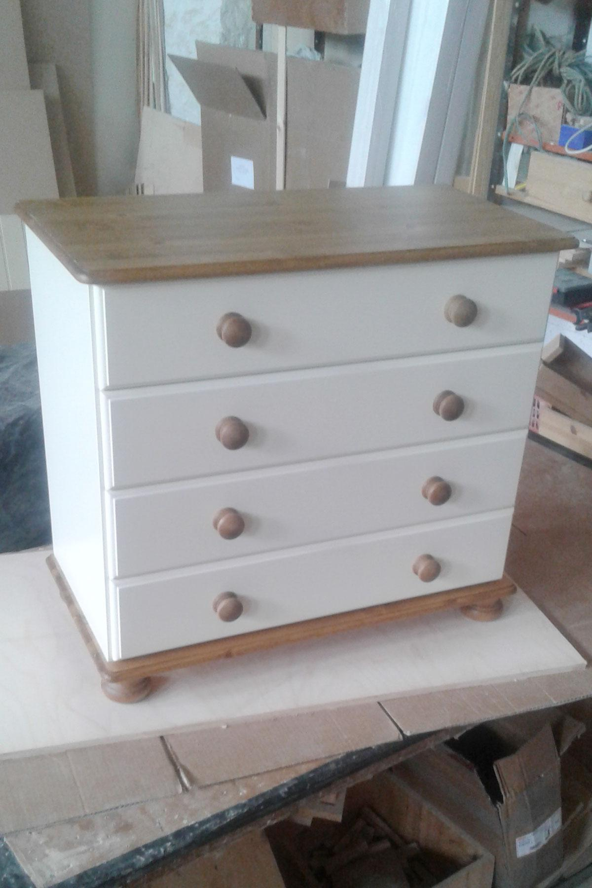 4 Drawer Painted Chest