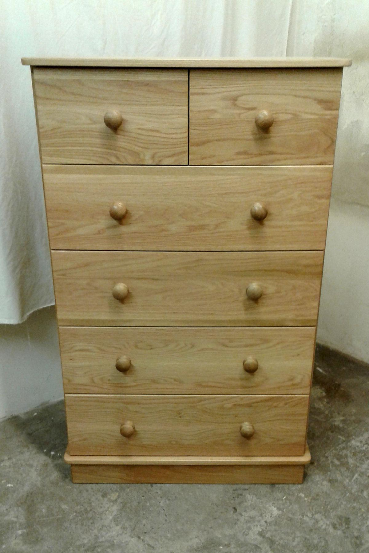 Exmoor Oak 4+2 Chest of Drawers