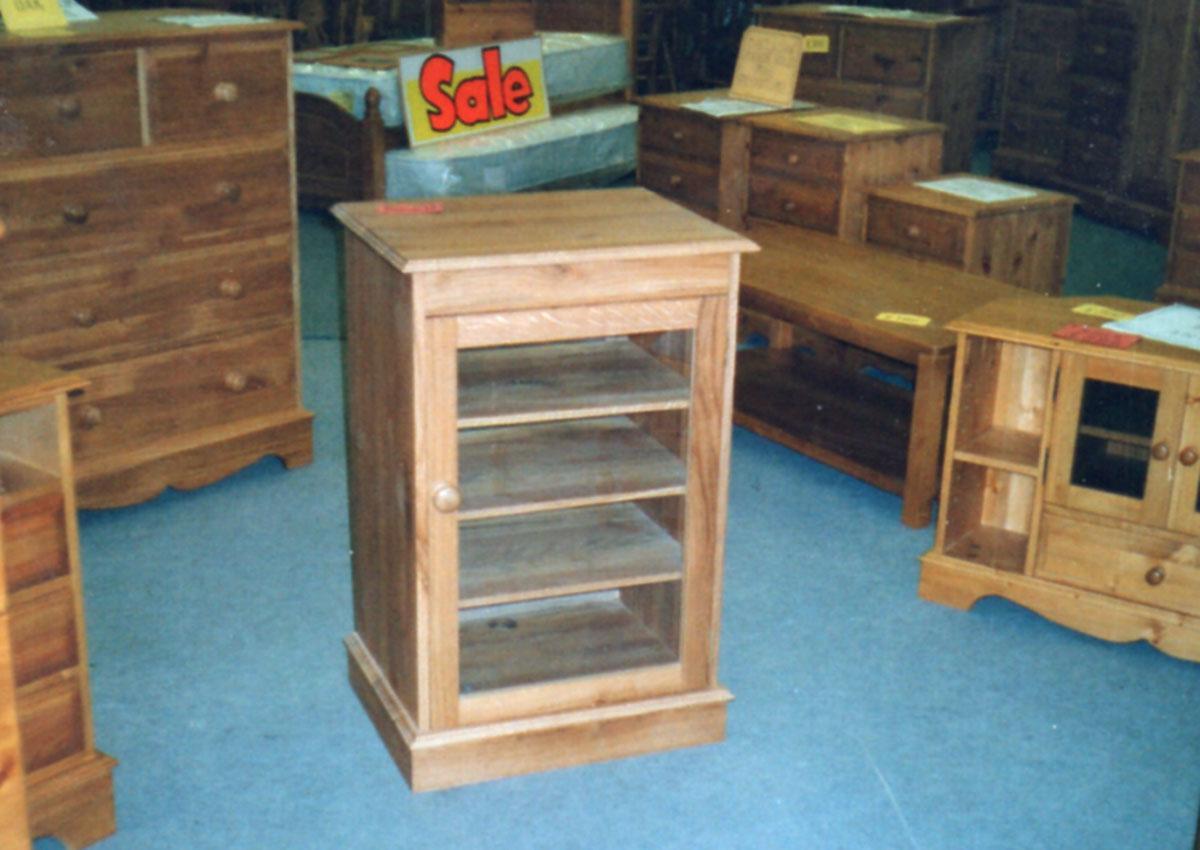 Cabinet maker bespoke pine furniture oak furniture bespoke - Bespoke Oak Hifi Cabinet