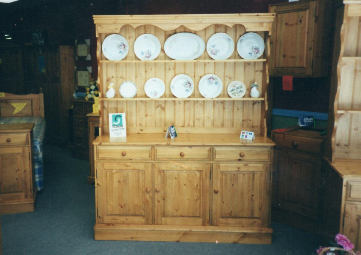 Pine Dressers Open Topped or Glazed