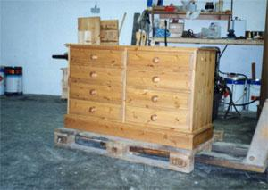 Custom Made to Measure Pine Chests, ready assembled.
