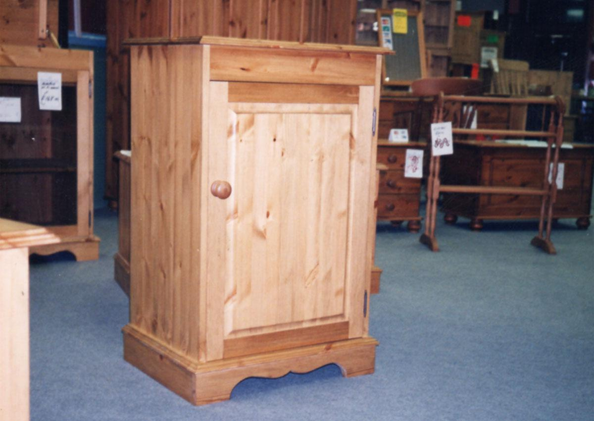 Custom Made-to-measure Pine Cupboard