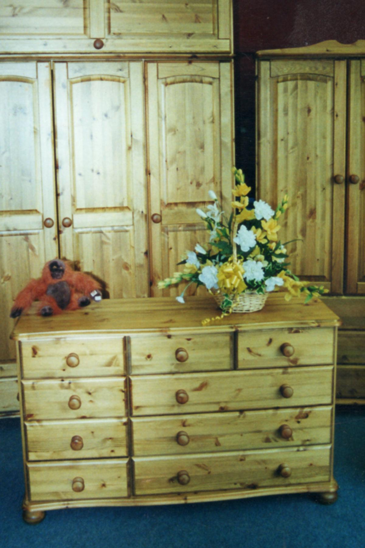 Custom and bespoke Chests of Drawers in Pine or Oak
