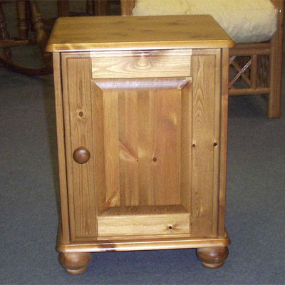 All pine bedside cabinets within the Devonshire collection are hand built and hand finished