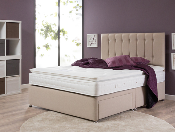 Our firmest option of pillowtop mattresses