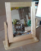 oak dressing table mirrors for sale
