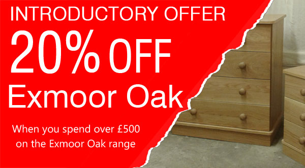Special Offer on Exmmor Oak Furniture
